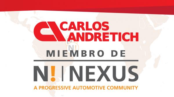 Carlos Andretich se unió al grupo Nexus Automotive International S.A.